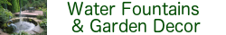 Water Fountains And Garden Decor Banner Image